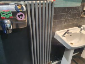 sink radiator hand dryer